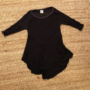Soft black tunic